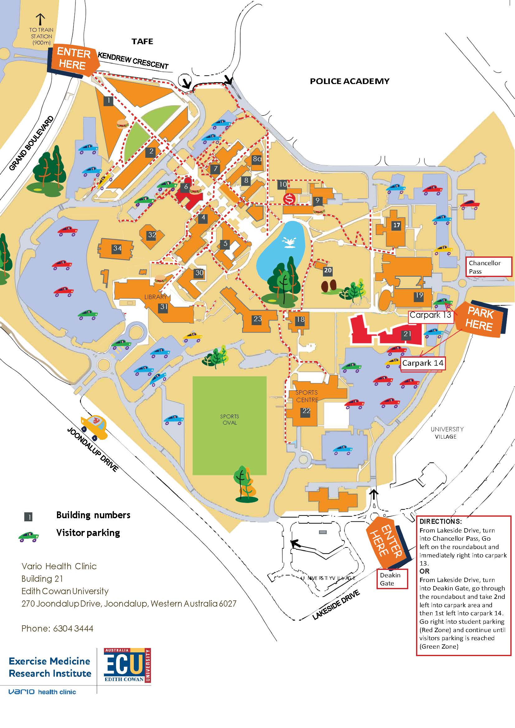 Ecu Mt Lawley Map Ecu Mt Lawley Map | compressportnederland Ecu Mt Lawley Map